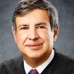 Judges-portraits-by-Richard-Quindry-Judge-Saltz-detail-image-1