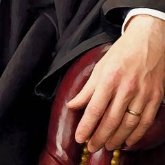 Judge-Serfass-Painting-Left-Hand-Detail